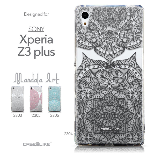 Collection - CASEiLIKE Sony Xperia Z3 Plus back cover Mandala Art 2304