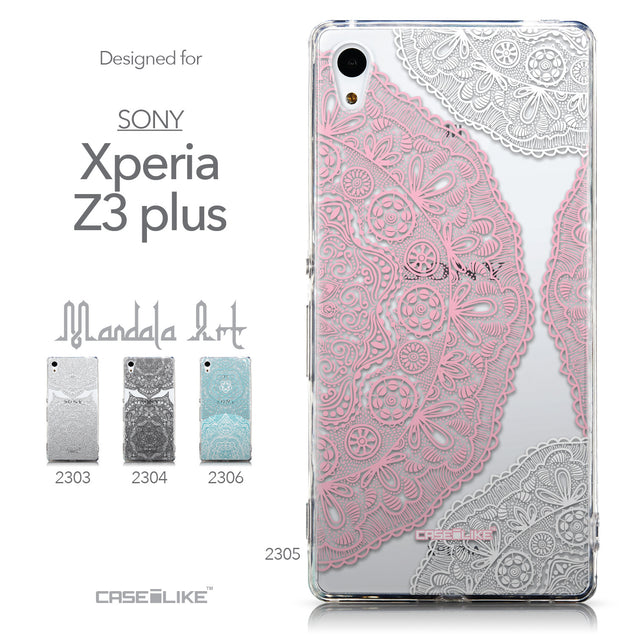 Collection - CASEiLIKE Sony Xperia Z3 Plus back cover Mandala Art 2305