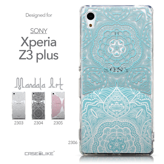 Collection - CASEiLIKE Sony Xperia Z3 Plus back cover Mandala Art 2306
