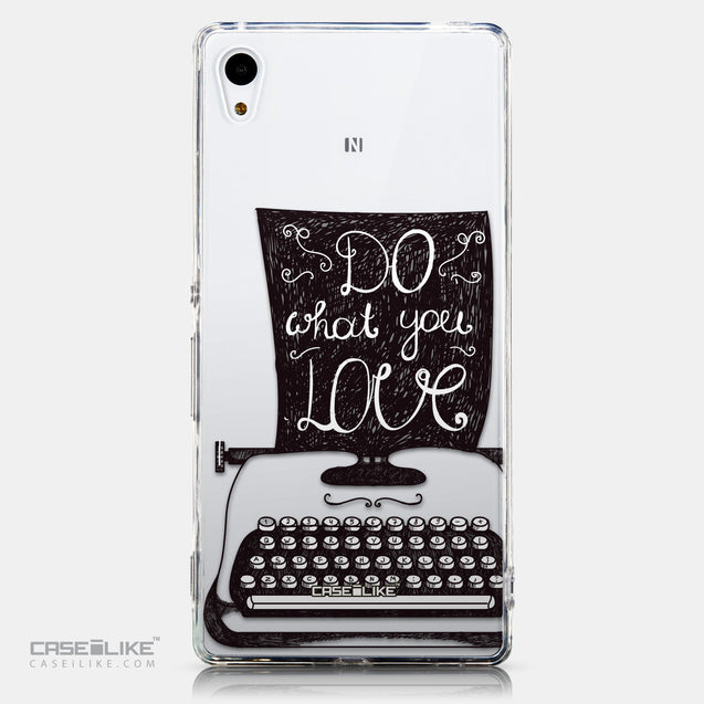 CASEiLIKE Sony Xperia Z3 Plus back cover Quote 2400