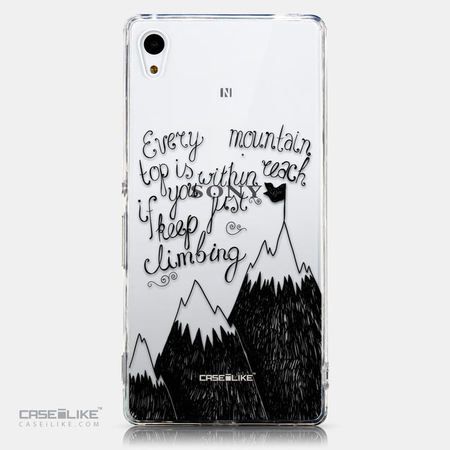 CASEiLIKE Sony Xperia Z3 Plus back cover Quote 2403