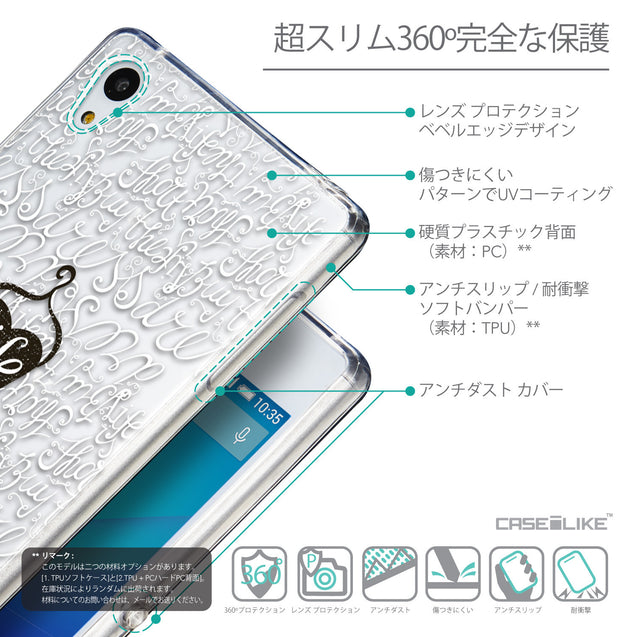 Details in Japanese - CASEiLIKE Sony Xperia Z3 Plus back cover Indian Tribal Theme Pattern 2053