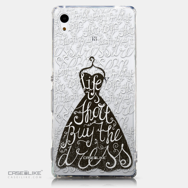 CASEiLIKE Sony Xperia Z3 Plus back cover Quote 2404