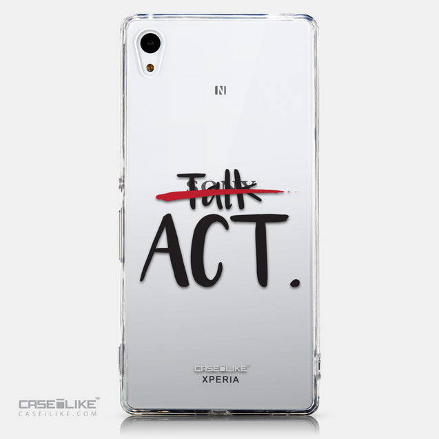 CASEiLIKE Sony Xperia Z3 Plus back cover Quote 2408