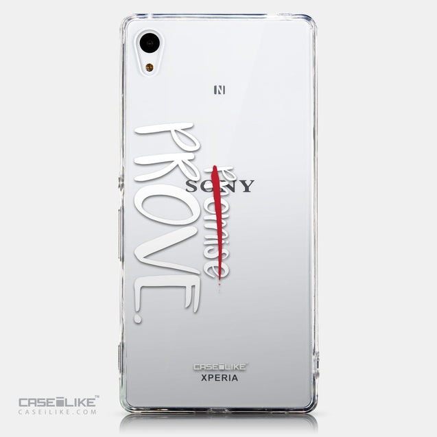 CASEiLIKE Sony Xperia Z3 Plus back cover Quote 2409