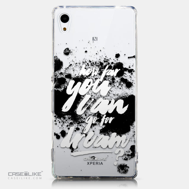CASEiLIKE Sony Xperia Z3 Plus back cover Quote 2413