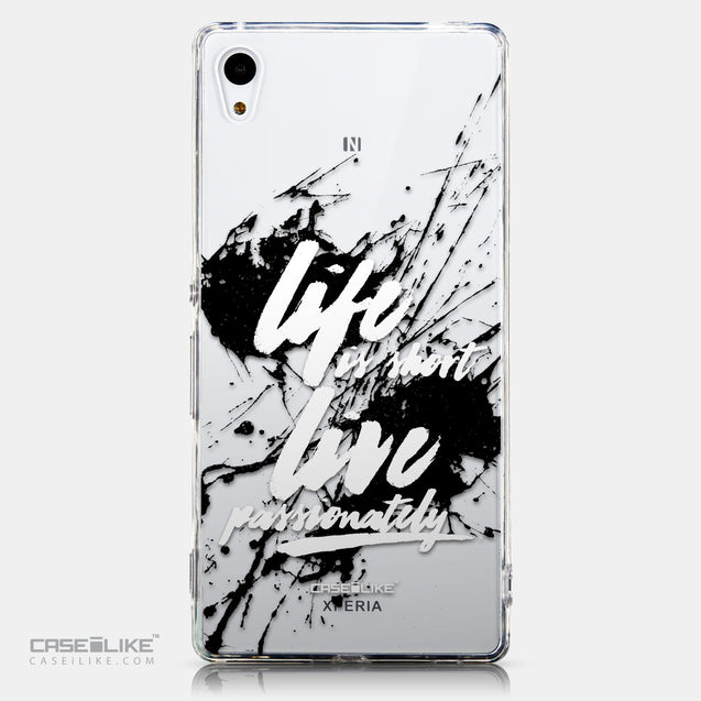 CASEiLIKE Sony Xperia Z3 Plus back cover Quote 2416