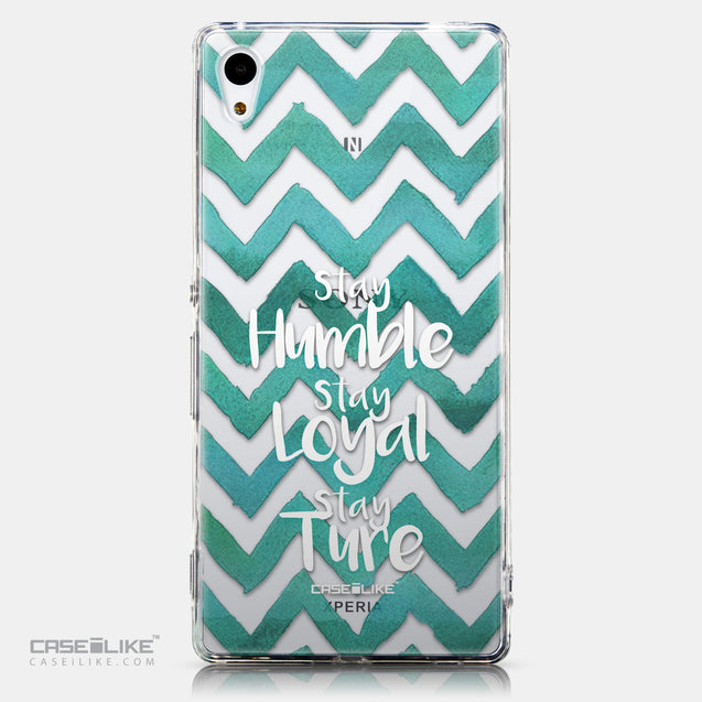 CASEiLIKE Sony Xperia Z3 Plus back cover Quote 2418