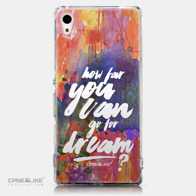 CASEiLIKE Sony Xperia Z3 Plus back cover Quote 2421