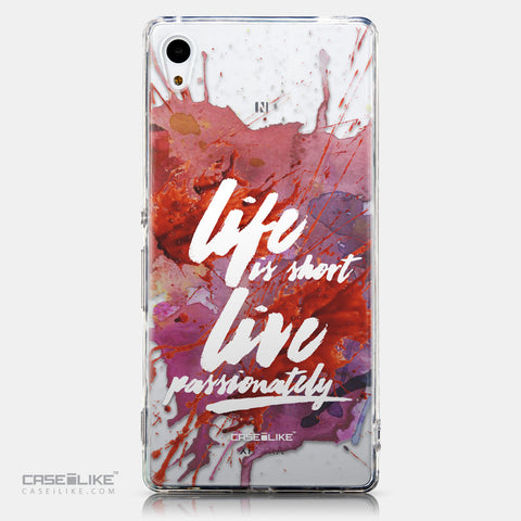 CASEiLIKE Sony Xperia Z3 Plus back cover Quote 2423