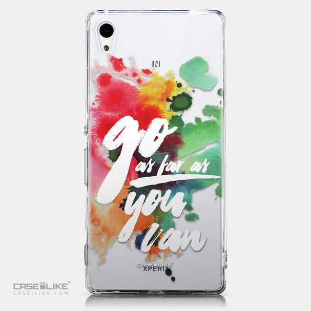 CASEiLIKE Sony Xperia Z3 Plus back cover Quote 2424