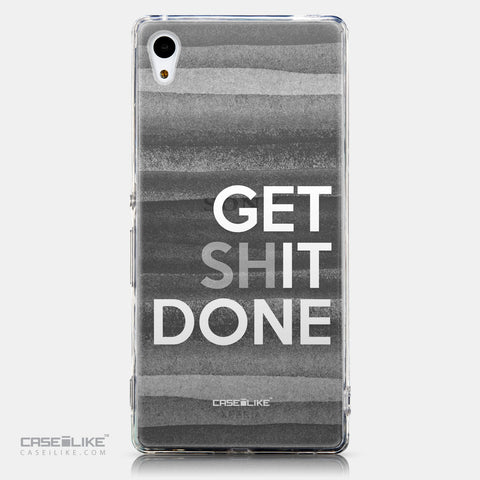 CASEiLIKE Sony Xperia Z3 Plus back cover Quote 2429