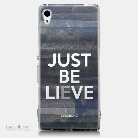 CASEiLIKE Sony Xperia Z3 Plus back cover Quote 2430