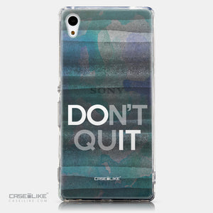 CASEiLIKE Sony Xperia Z3 Plus back cover Quote 2431