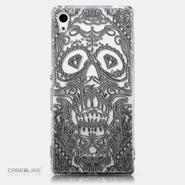 CASEiLIKE Sony Xperia Z3 Plus back cover Art of Skull 2524