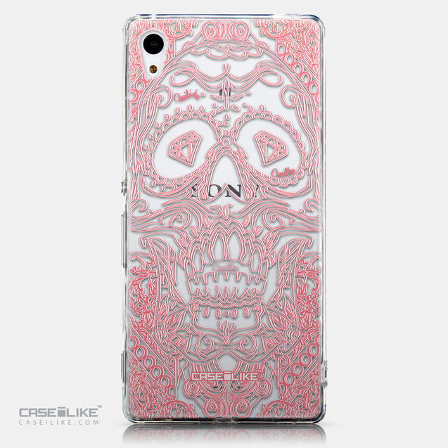 CASEiLIKE Sony Xperia Z3 Plus back cover Art of Skull 2525
