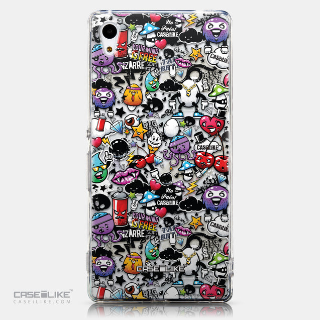 CASEiLIKE Sony Xperia Z3 Plus back cover Graffiti 2703