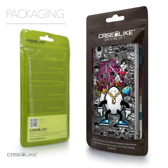 Packaging - CASEiLIKE Sony Xperia Z3 Plus back cover Graffiti 2704
