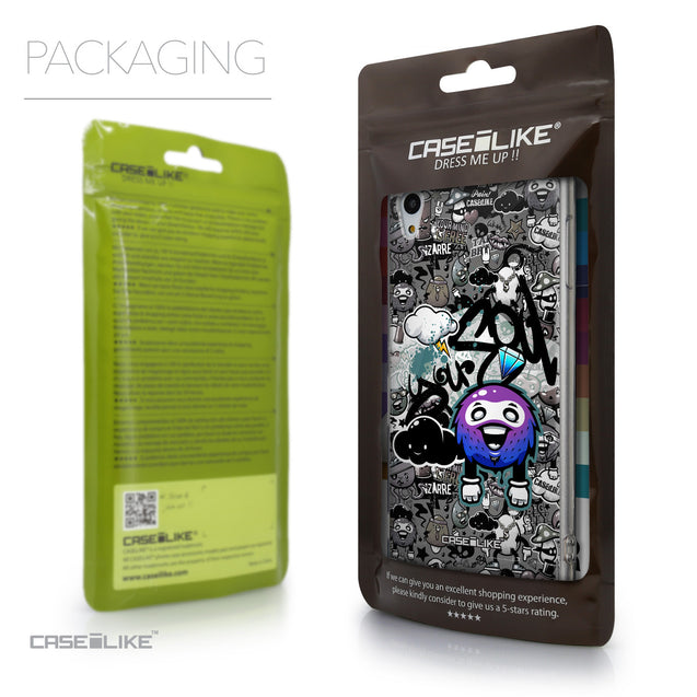Packaging - CASEiLIKE Sony Xperia Z3 Plus back cover Graffiti 2706
