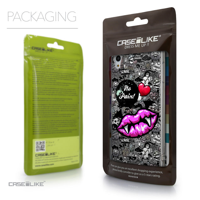 Packaging - CASEiLIKE Sony Xperia Z3 Plus back cover Graffiti 2708