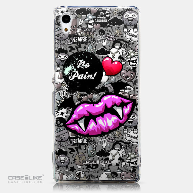 CASEiLIKE Sony Xperia Z3 Plus back cover Graffiti 2708