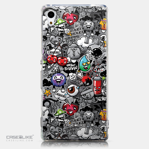 CASEiLIKE Sony Xperia Z3 Plus back cover Graffiti 2709