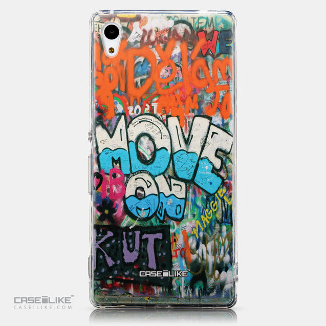 CASEiLIKE Sony Xperia Z3 Plus back cover Graffiti 2722