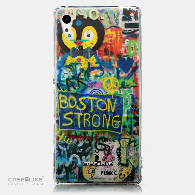 CASEiLIKE Sony Xperia Z3 Plus back cover Graffiti 2723
