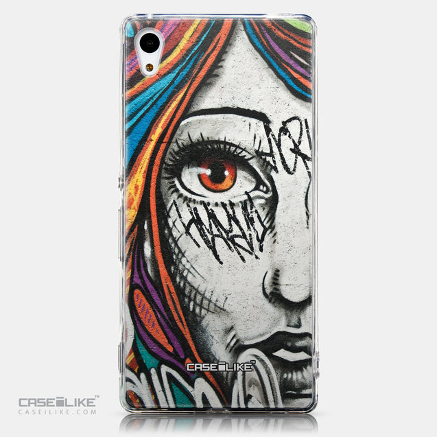 CASEiLIKE Sony Xperia Z3 Plus back cover Graffiti Girl 2724