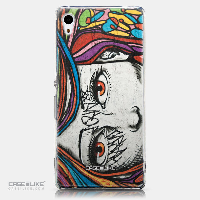 CASEiLIKE Sony Xperia Z3 Plus back cover Graffiti Girl 2725
