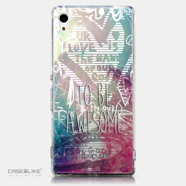 CASEiLIKE Sony Xperia Z3 Plus back cover Graffiti 2726