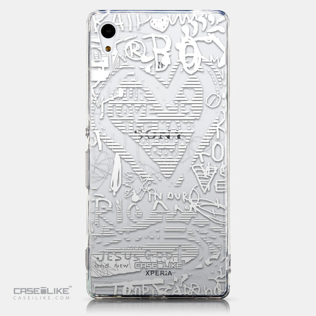 CASEiLIKE Sony Xperia Z3 Plus back cover Graffiti 2730