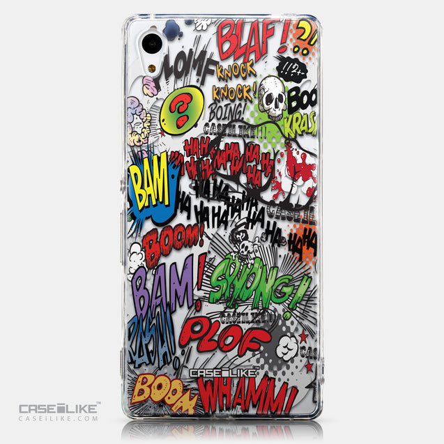CASEiLIKE Sony Xperia Z3 Plus back cover Comic Captions 2914