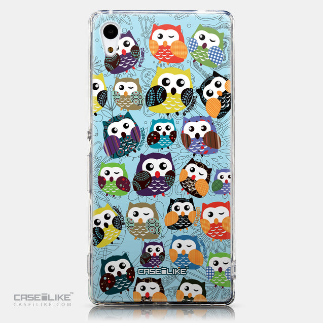 CASEiLIKE Sony Xperia Z3 Plus back cover Owl Graphic Design 3312