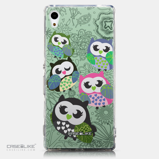 CASEiLIKE Sony Xperia Z3 Plus back cover Owl Graphic Design 3313