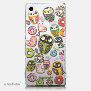 CASEiLIKE Sony Xperia Z3 Plus back cover Owl Graphic Design 3315
