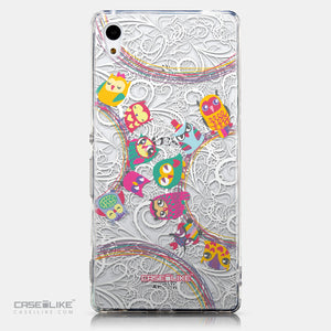 CASEiLIKE Sony Xperia Z3 Plus back cover Owl Graphic Design 3316