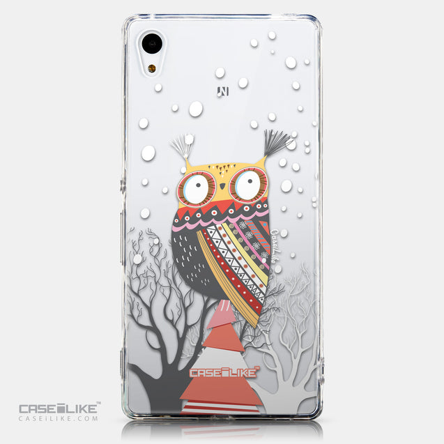 CASEiLIKE Sony Xperia Z3 Plus back cover Owl Graphic Design 3317
