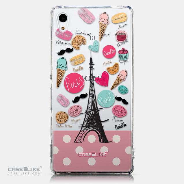 CASEiLIKE Sony Xperia Z3 Plus back cover Paris Holiday 3904