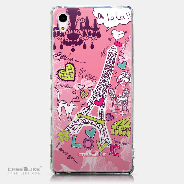 CASEiLIKE Sony Xperia Z3 Plus back cover Paris Holiday 3905