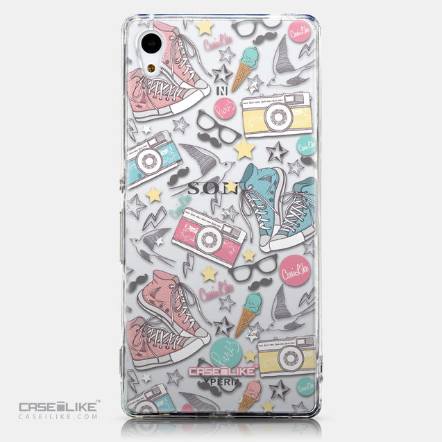 CASEiLIKE Sony Xperia Z3 Plus back cover Paris Holiday 3906