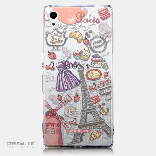 CASEiLIKE Sony Xperia Z3 Plus back cover Paris Holiday 3907