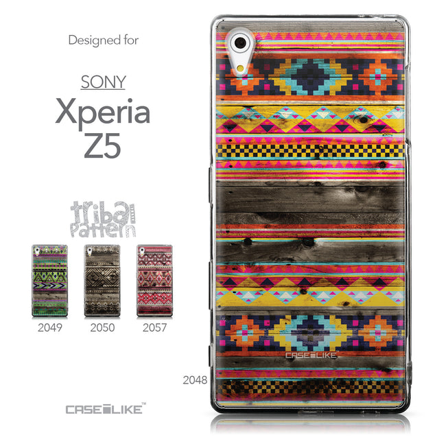 Collection - CASEiLIKE Sony Xperia Z5 back cover Indian Tribal Theme Pattern 2048