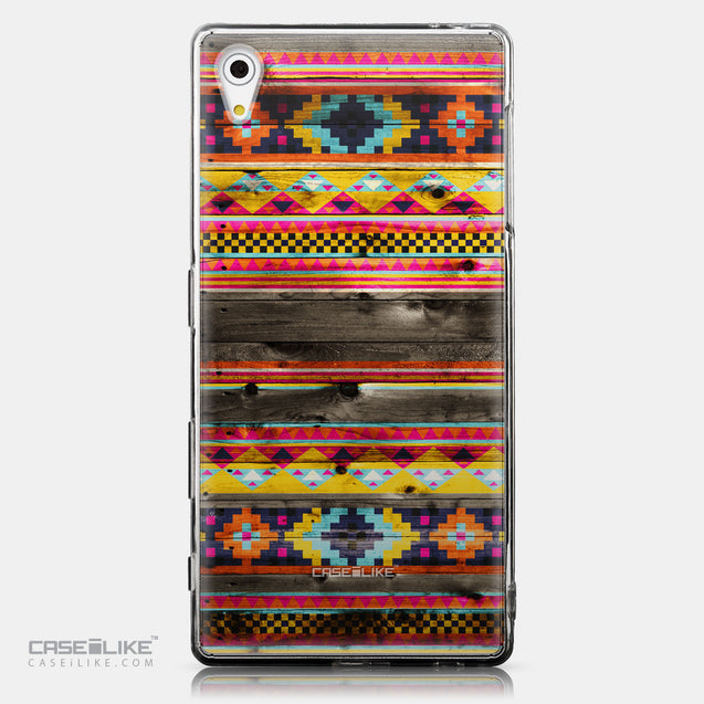 CASEiLIKE Sony Xperia Z5 back cover Indian Tribal Theme Pattern 2048
