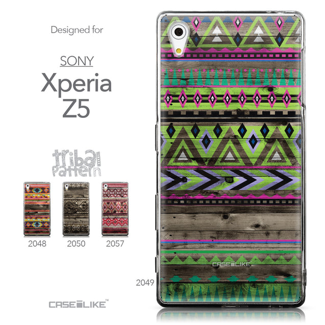 Collection - CASEiLIKE Sony Xperia Z5 back cover Indian Tribal Theme Pattern 2049