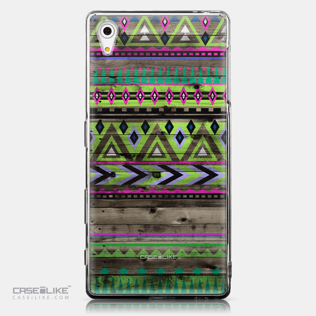 CASEiLIKE Sony Xperia Z5 back cover Indian Tribal Theme Pattern 2049