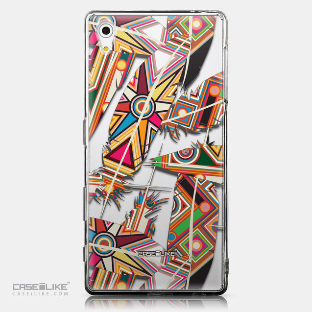 CASEiLIKE Sony Xperia Z5 back cover Indian Tribal Theme Pattern 2054