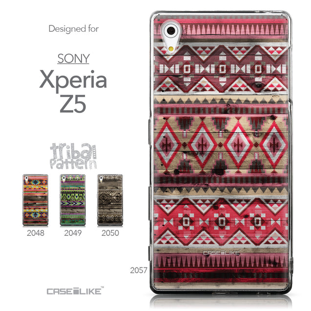 Collection - CASEiLIKE Sony Xperia Z5 back cover Indian Tribal Theme Pattern 2057
