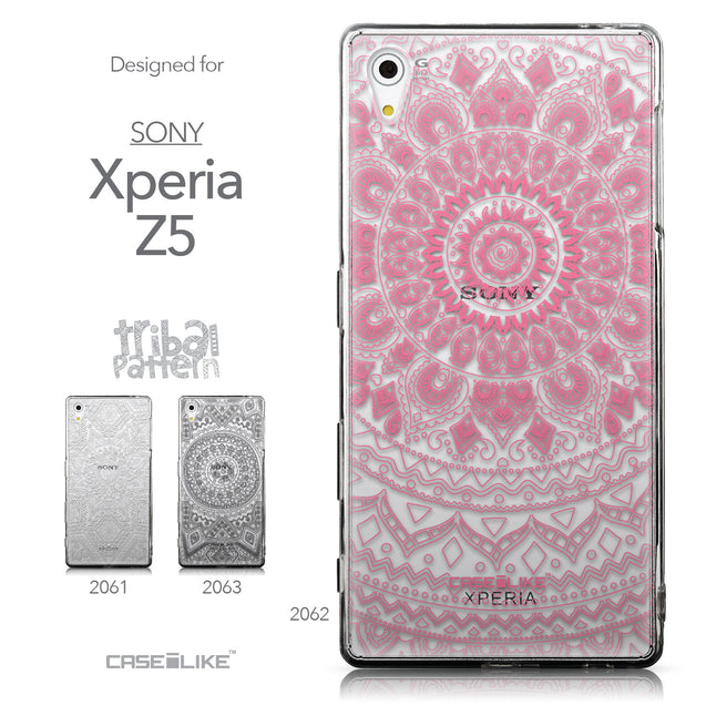 Collection - CASEiLIKE Sony Xperia Z5 back cover Indian Line Art 2062