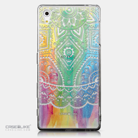 CASEiLIKE Sony Xperia Z5 back cover Indian Line Art 2064